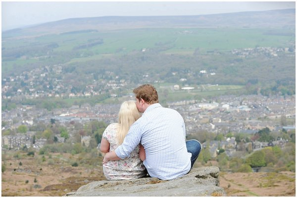ILKLEY MOOR ENGAGEMENT SHOOT / YORKSHIRE DALES WEDDING PHOTOGRAPHER