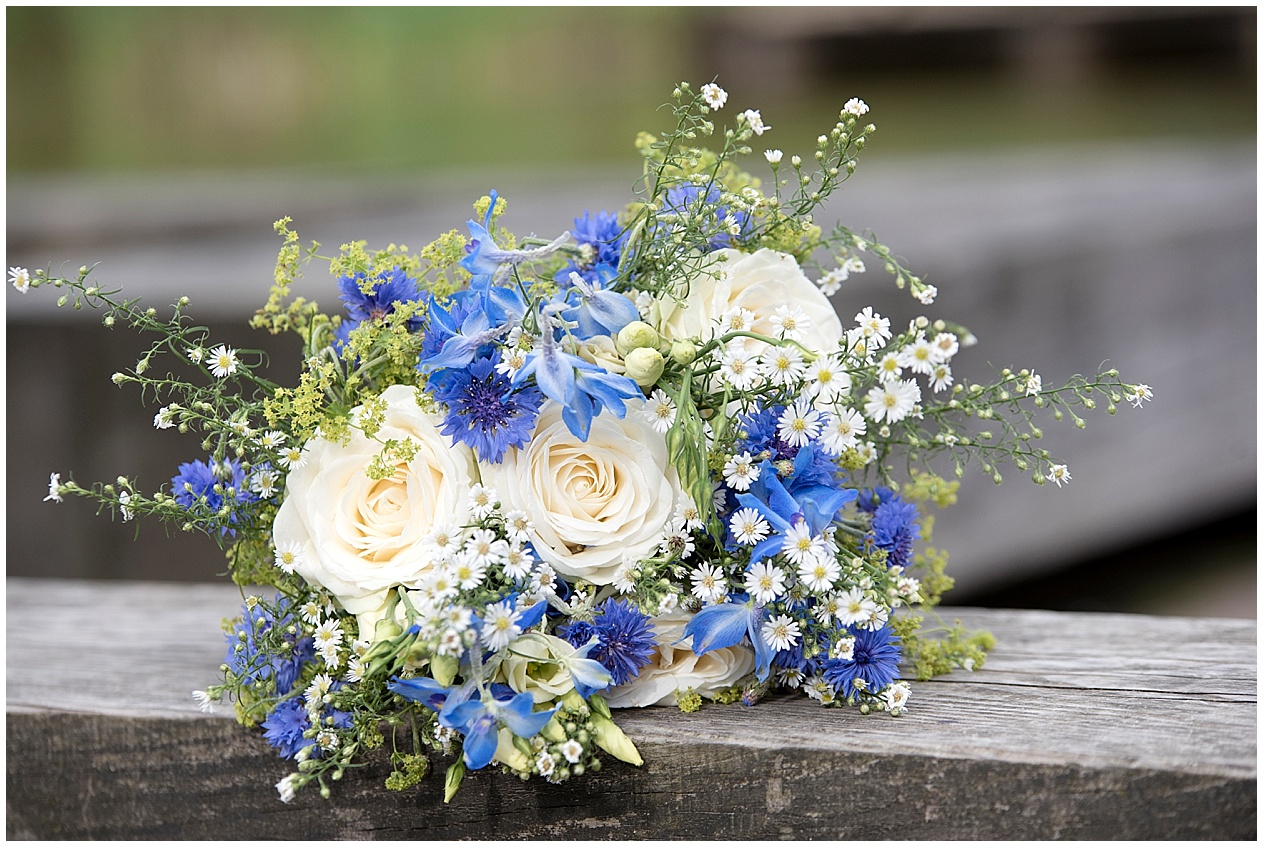 Beautiful bridal flowers