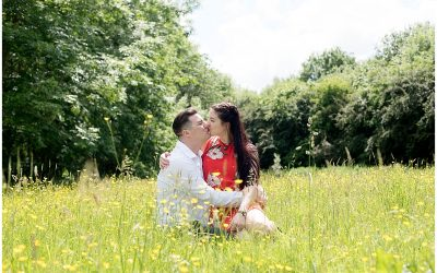 Preston Wedding Photographer | An engagement shoot at Brockholes