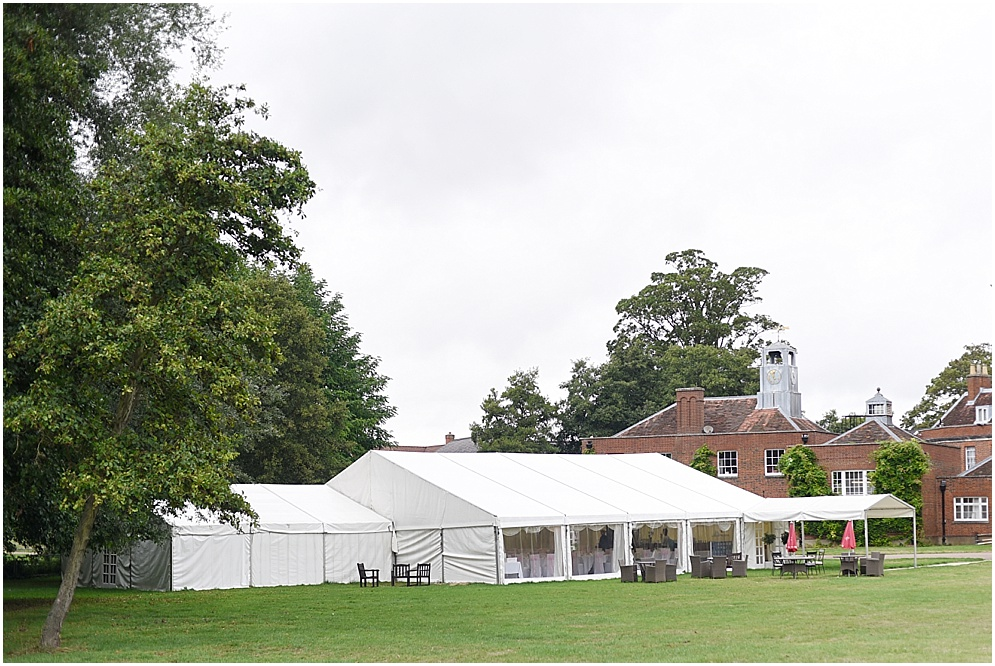 Hitchin Priory Marquee