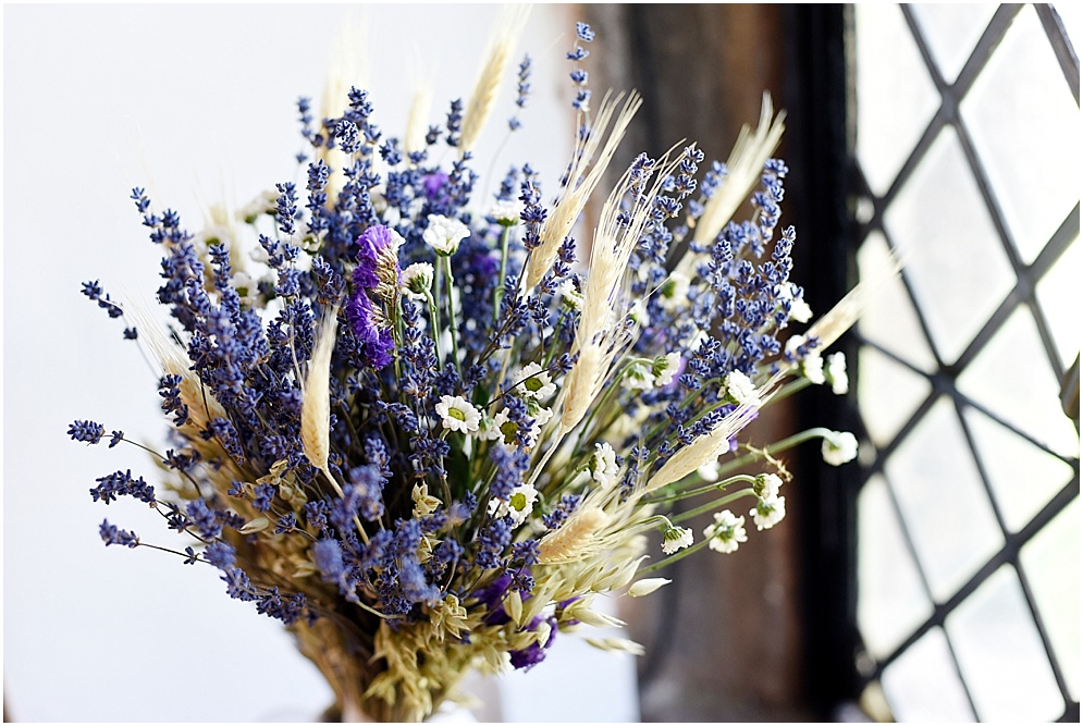 Lavender flowers for a wedding